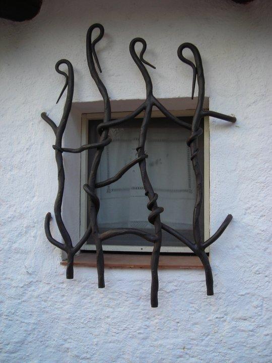 Ringhiera per finestra in ferro