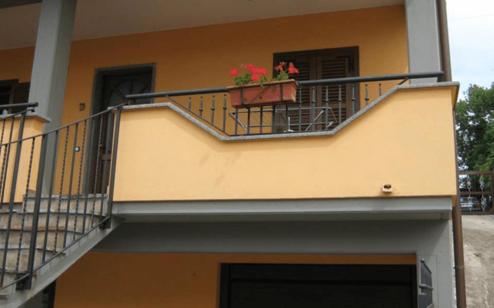 ringhiere, ferro battuto, ringhiere per balconi, Viterbo