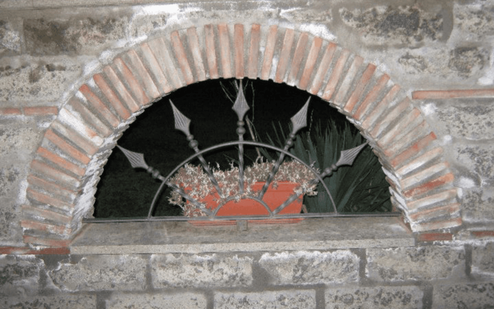 decorazioni in ferro, decorazioni in ferro battuto, Viterbo