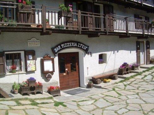 ingresso del locale bar pizzeria