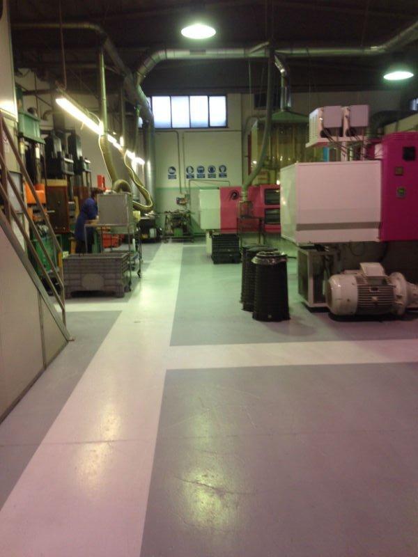 interno di una fabbrica