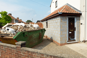 Industrial site waste disposal - Blackwood, South Wales - Gwent Skip Hire - Home clearance