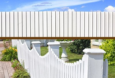 phantom fencing white painting fence