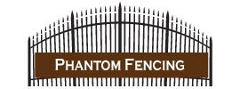 phantom fencing business logo