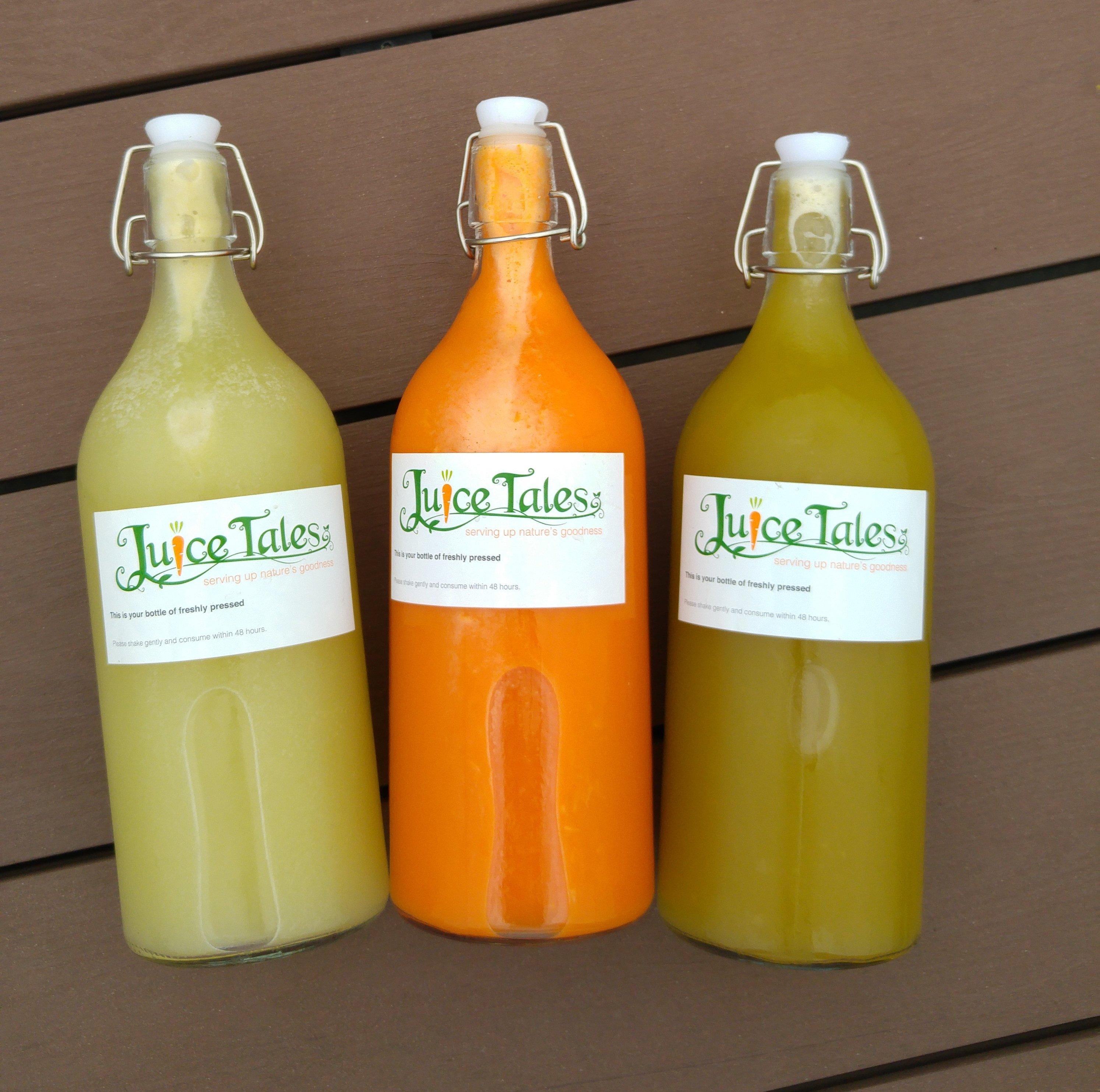 Create Your Own Signature Juice Bottle