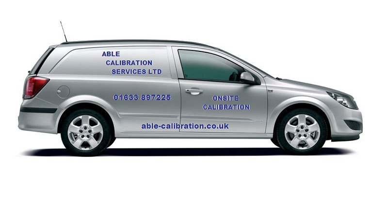 ABLE Calibration van