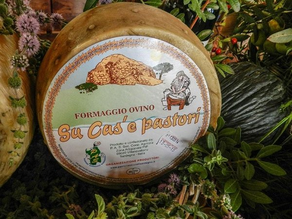 Pecorino di Sardegna - Su Cas'e Pastori