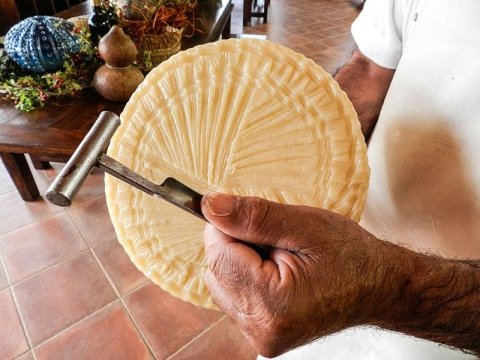PAS cheese factory:Aging typical Sardinian cheeses