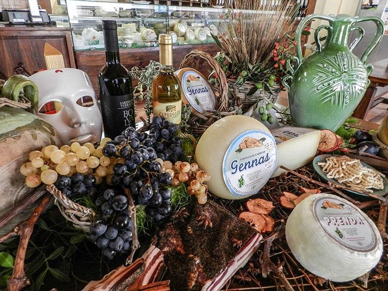 PAS Production of Sardinian cheeses