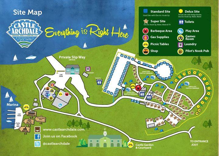 Castle Archdale Caravan Park Enniskillen