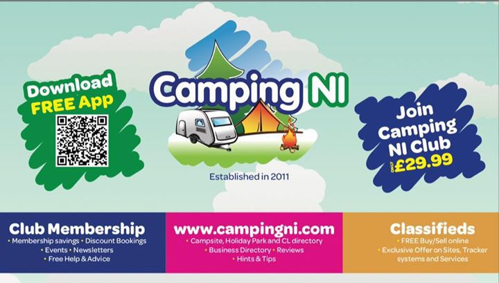 Join CampingNI for £29.99