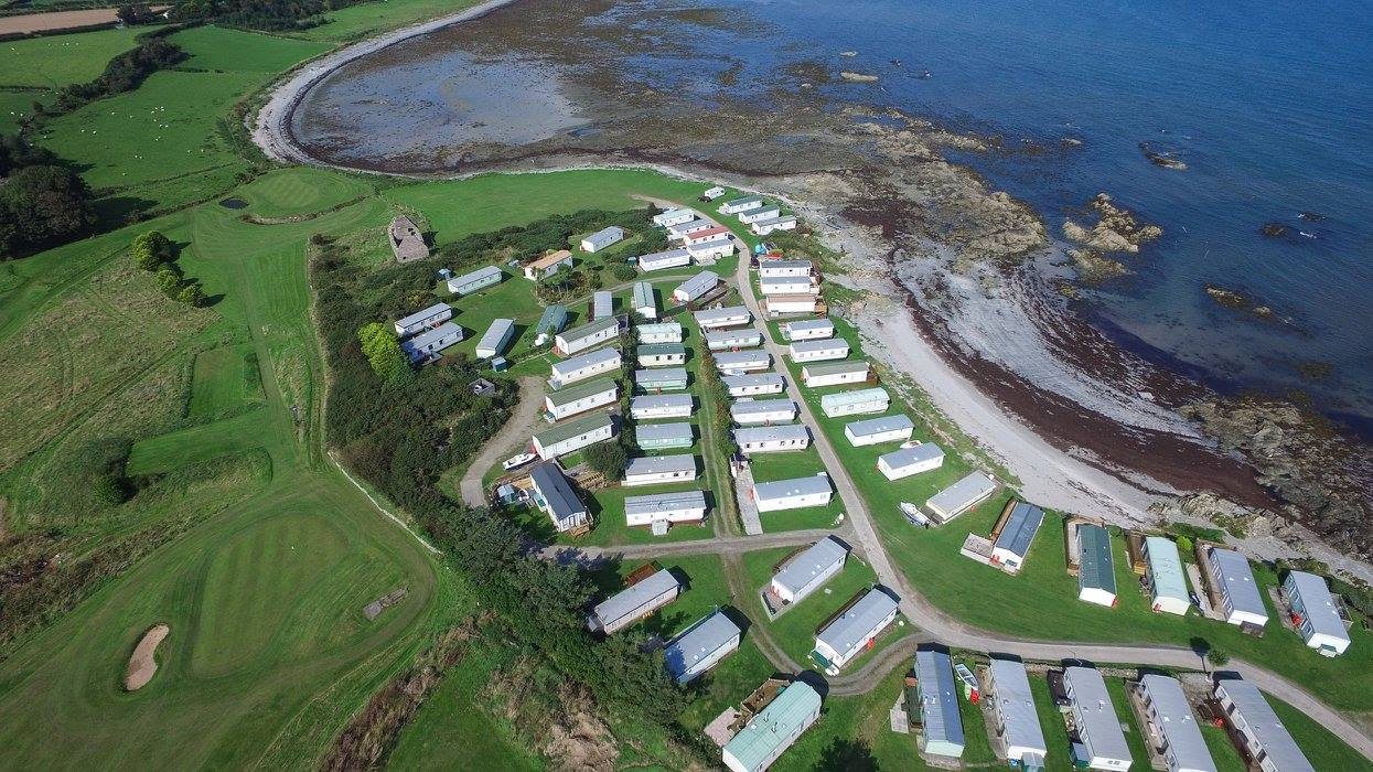 Featured Campsite - Silverbay Caravan Park, Portaferry - CampingNI