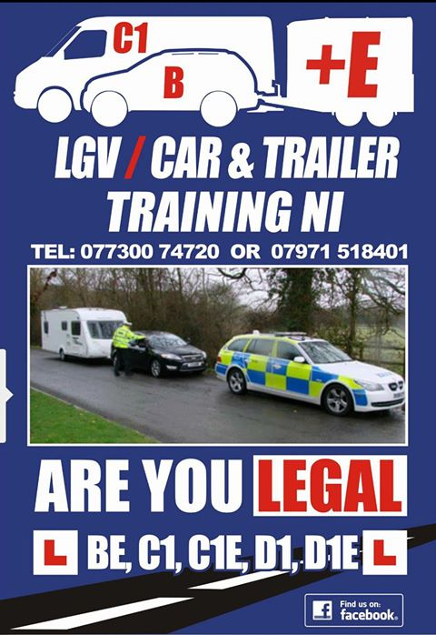 Lgv Car And Trailer Training Ni