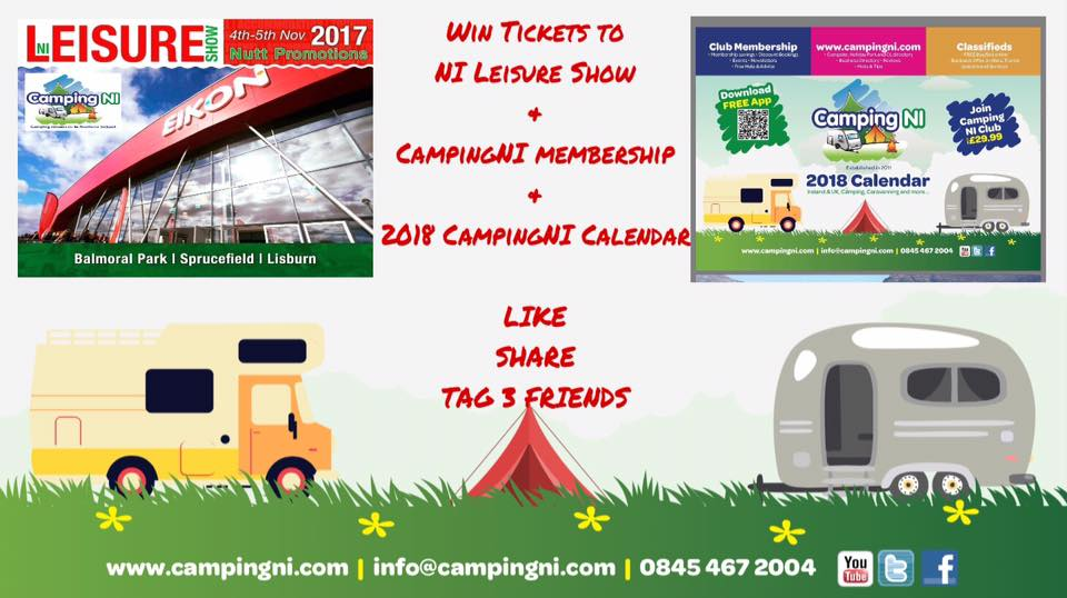 CampingNI Games and Competitions