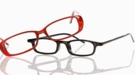 Assortimento, esperti, assistenza, occhiali, lenti a contatto