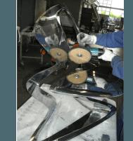 Lucidatura sedie e poltrone acciaio inox