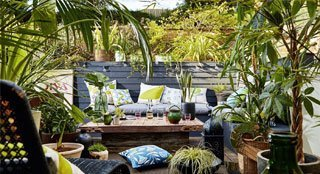 outdoor comfortable seating