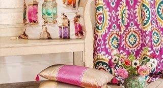 manuel canovas fabrics cardiff, south wales, new quay