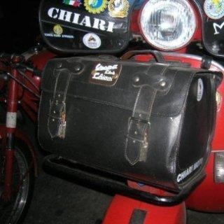 borse per portapacchi anteriore, passione, scooter