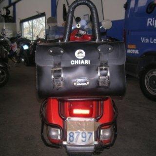 borsa montata, design, settore motociclistico
