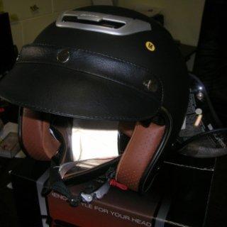 casco astone, pelle, solar system