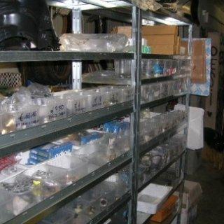 il nostro magazzino, pezzi originali, rimessa