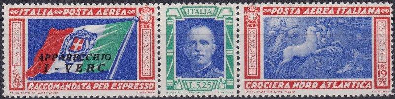 degli antichi francobolli