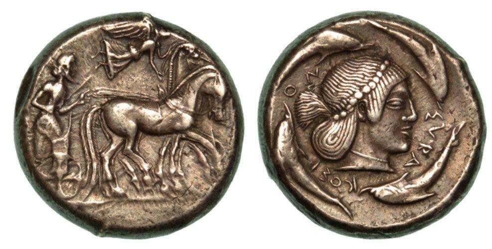 due monete antiche