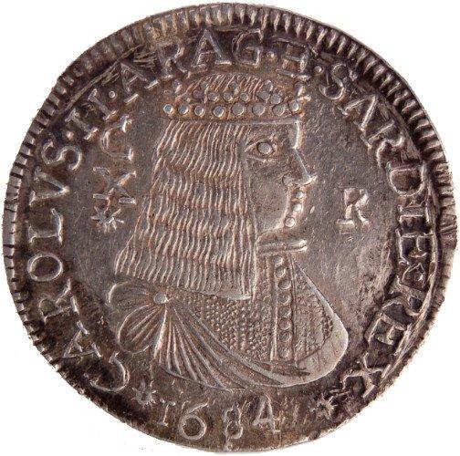 una moneta del 1684