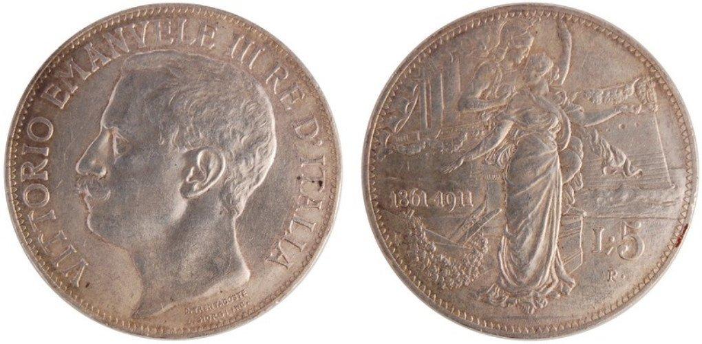 due monete di Vittorio Emanuele III