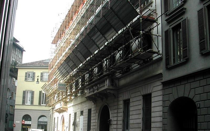 affittare ponteggi per edilizia