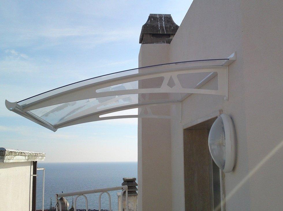 Tettoie per balconi e terrazze