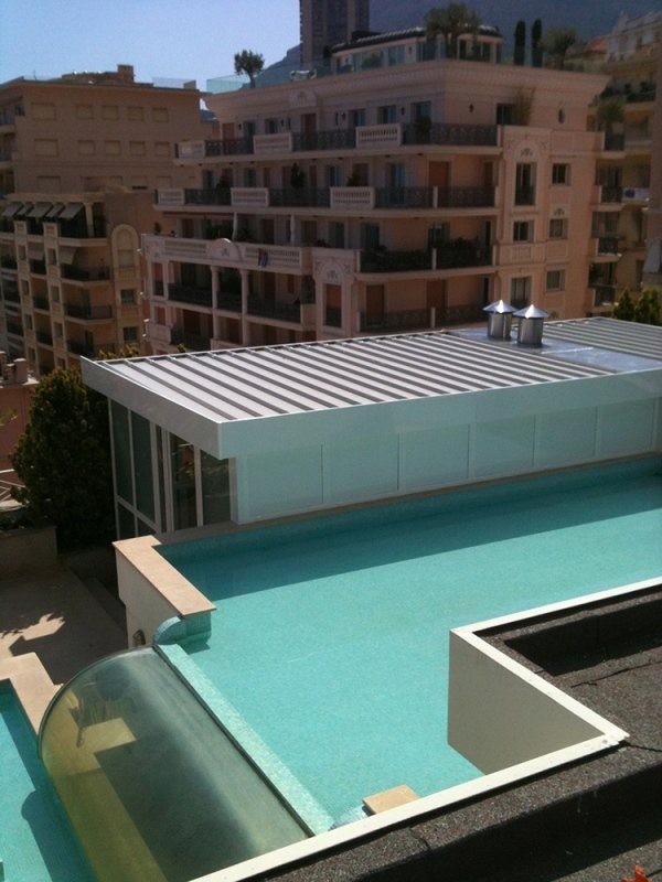 Verande con piscina