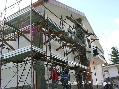 facciate di case