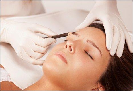 eye brow treatment