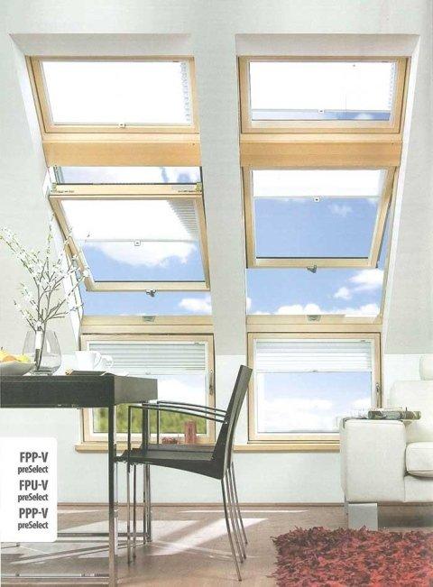 finestre da tetto a bilico