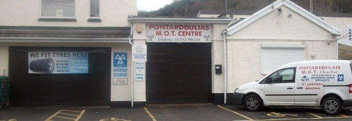Pontardulais MOT Centre
