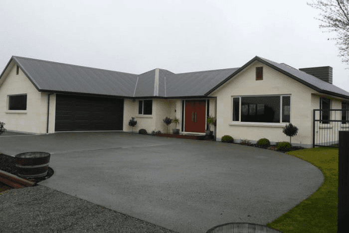 A beautifully built house