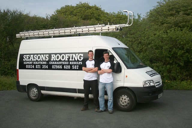Seasons Roofing team