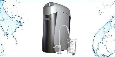 un depuratore d'acqua