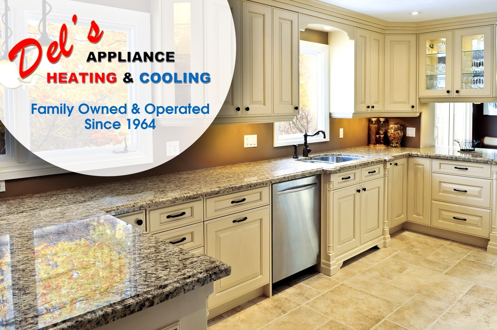 Del's Appliance Heating & Cooling, Family Owned & Operated Since 1964