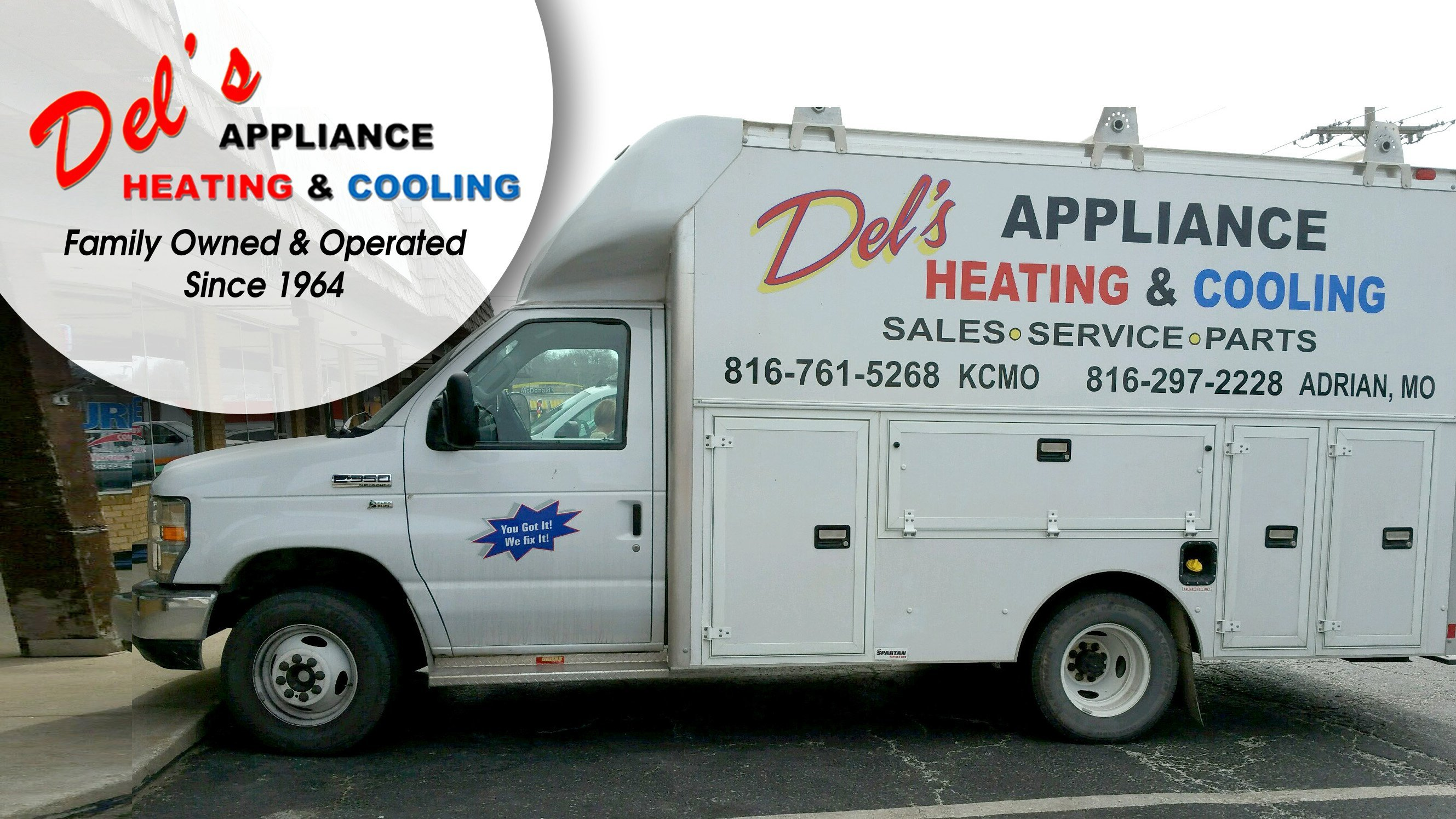 Del S Appliance Heating Amp Cooling We Service All Makes