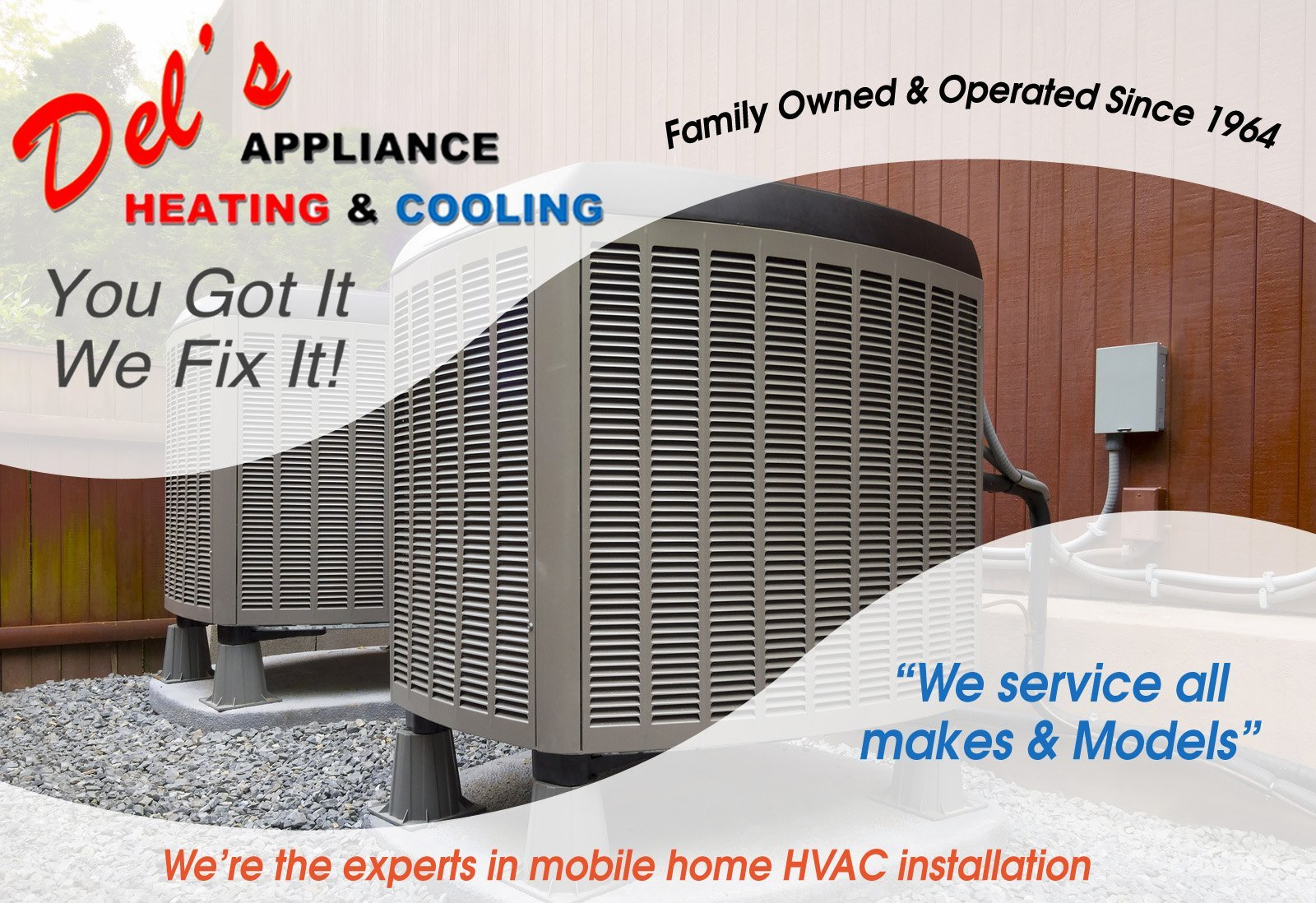 Del's Appliance Heating & Cooling