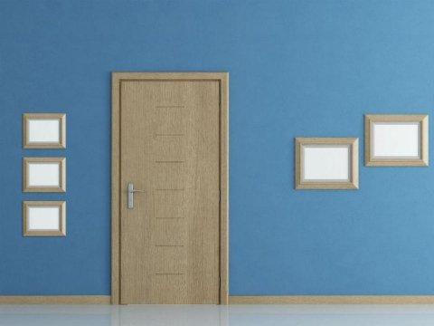 porta in legno tortora