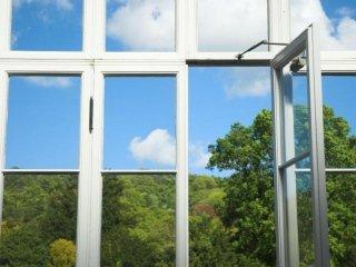 finestra alluminio e vetro