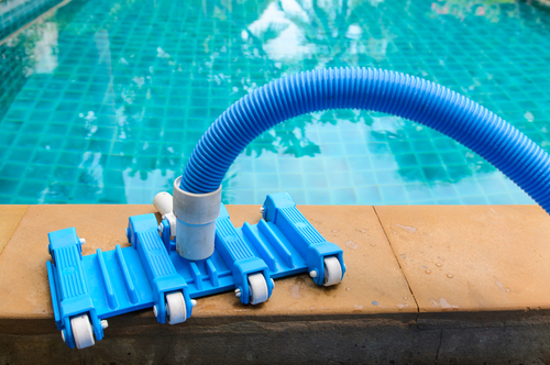 Our pool equipment being used in Washington Depot
