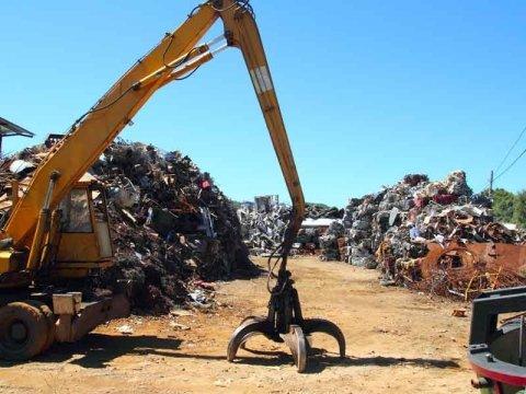 raccolta rifiuti e stoccaggio