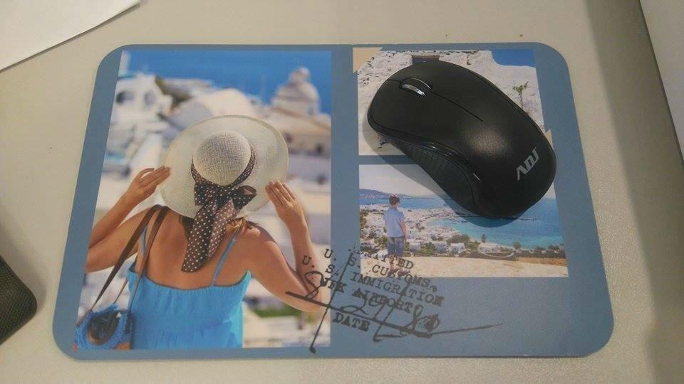 Tappetino mouse personalizzato con fotografia