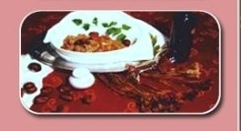 salsiccia, castagne e cipolle