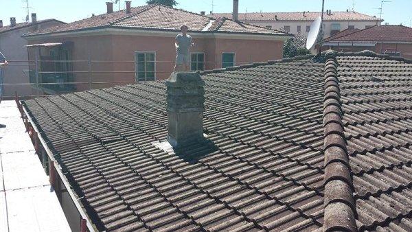 rifacimento copertura tetto villetta - stati di fatto